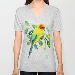 Sun Parakeet Unisex V-Neck