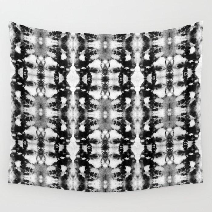 Tie-Dye Blacks & Whites Wall Tapestry