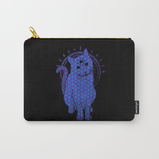 Trippy Cat: 4 Carry-All Pouch