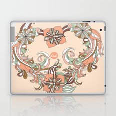 out heart Laptop & iPad Skin
