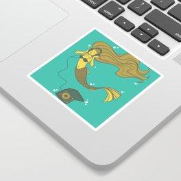 The Vinyl Mermaid Sticker