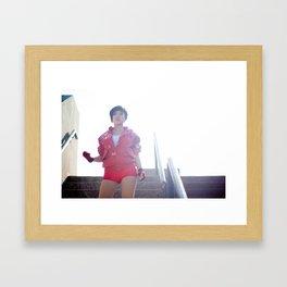 Stella Chuu as Kaneda from Akira Framed Art Print