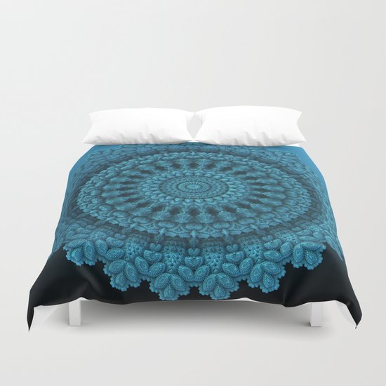 Mandala for the Masses Duvet Cover