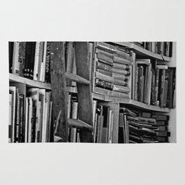 Book Shelves Rug