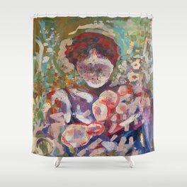 August Garten Shower Curtain