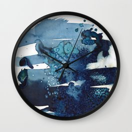 It's a windy day on the beach today. Wall Clock