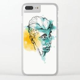 Viktor Clear iPhone Case