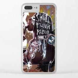 SKULL FUNK RADIO VOL. 1 Clear iPhone Case
