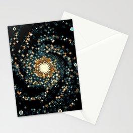Pinwheel Galaxy M101 (8bit) Stationery Cards