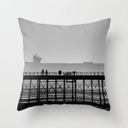cargo couple Throw Pillow