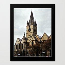 The Church Canvas Print
