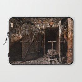 Rusty Grunge Silk Mill Laptop Sleeve