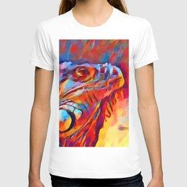 Iguana Watercolor T-shirt