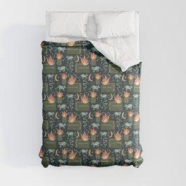 Dumpster Fire  Comforters