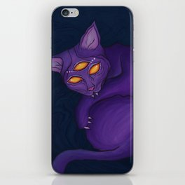 The Cat Who Lived in the Shadows iPhone Skin