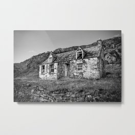 Highland Croft Metal Print