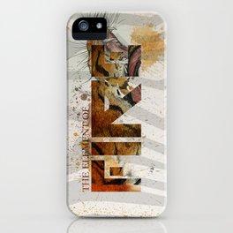 Fire / Liger iPhone Case