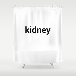 kidney Shower Curtain