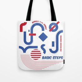 Basic steps for boogie dancing Tote Bag