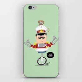 Captain Pizzazz iPhone Skin