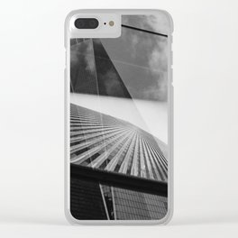 World Trade Center(s) Clear iPhone Case