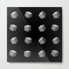 Sugar cubes Metal Print