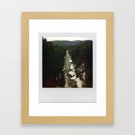Quechee Gorge Framed Art Print