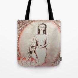 Ninfea * Lotus Flower Tote Bag