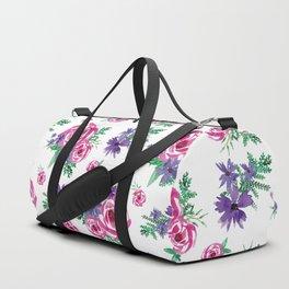Flower Pattern #6 Duffle Bag