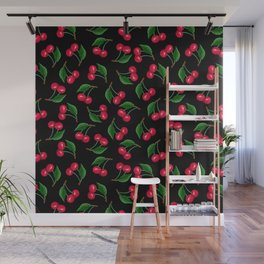 Red Cherry Wall Mural