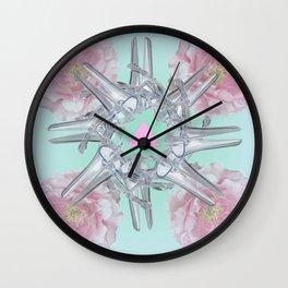Halez Yea (in Mint) Wall Clock