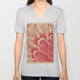 First Life by Pierre Blanchard Unisex V-Neck