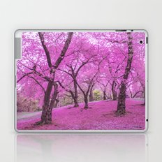 New York City Springtime Cherry Blossoms Laptop & iPad Skin