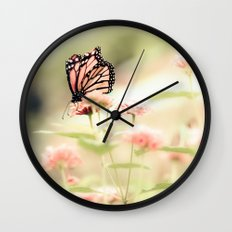 Queen of Spring Wall Clock