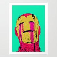 boneface Art Prints featuring Smack! by boneface