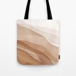 Mountains and hills Tote Bag