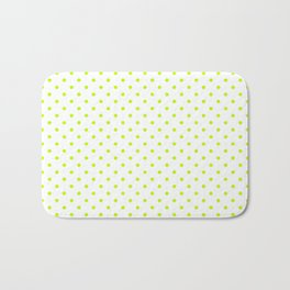 Dots (Lime/White) Bath Mat