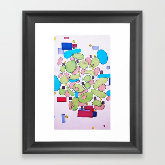 City Golf Framed Art Print