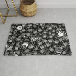Chrome dumbbells Rug