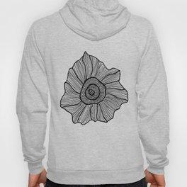 floral sketch Hoody