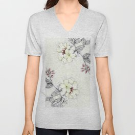 Pequi Flower Unisex V-Neck
