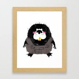 Missfits Beaver Framed Art Print