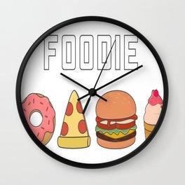Cute and Kawaii Food Wall Clock