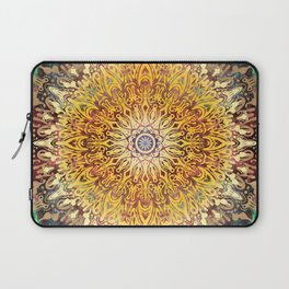 Cygnus Cosmic Mandala Laptop Sleeve