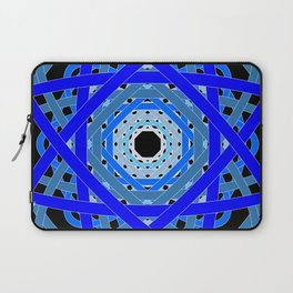Not Quite Tangled Inside Out (Black Light Version) Laptop Sleeve