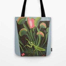 Mantis Flytrap Tote Bag