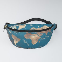 world map 27 Fanny Pack