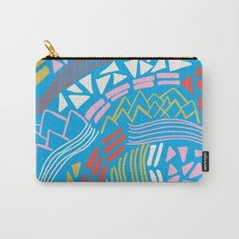 cascade, abstract terrain Carry-All Pouch