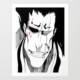 Zaraki Kenpachi Art Print