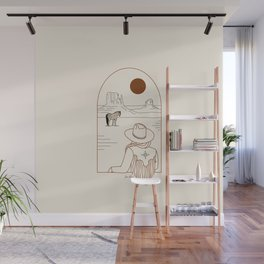 Lost Pony - Rustic Wall Mural